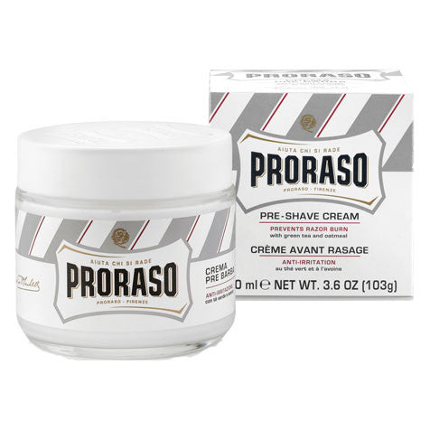Proraso Anti-Irritation Pre and Post Shave Cream Green Tea