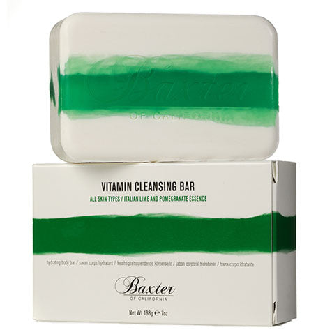Baxter of California Vitamin Cleansing Bar: Italian Lime and Pomegranate