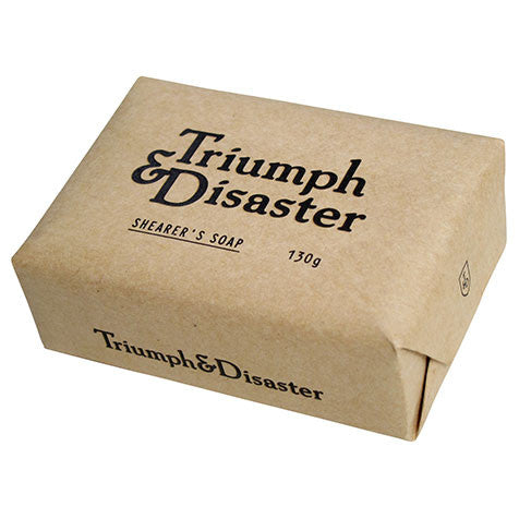 Triumph and Disaster Shearer's Soap Bar