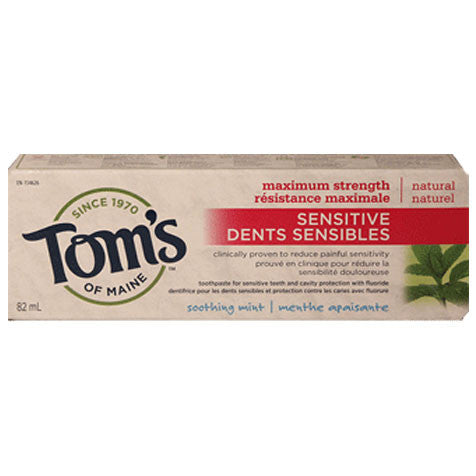 Tom's of Maine Sensitive Maximum Strength (Soothing Mint)