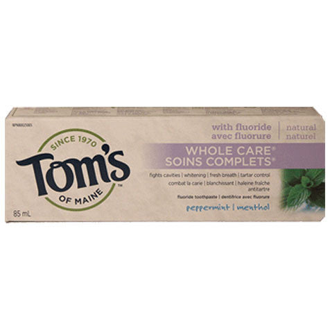 Tom's of Maine Whole Care (Peppermint Menthol)