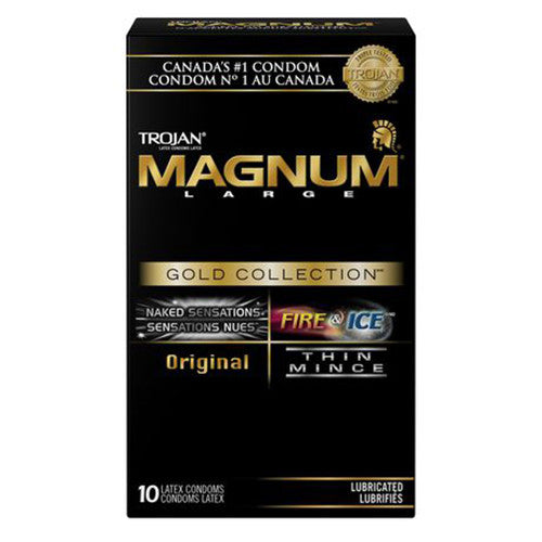 Trojan Magnum Gold Collection (10 Pack)