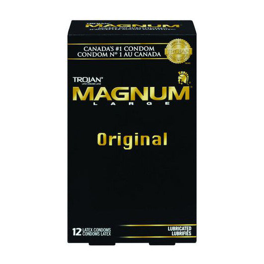 TROJAN Magnum Lubricated (12 Pack)