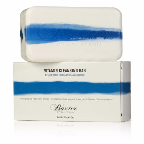 Baxter of California Vitamin Cleansing Bar: Flora and Cassis