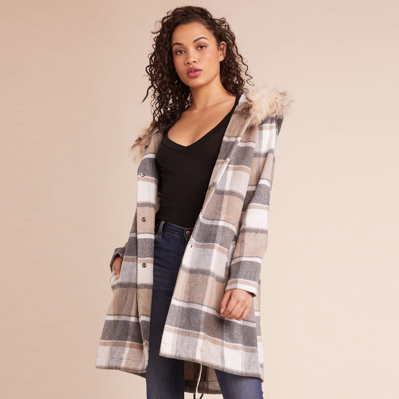 You Oughta Know Plaid Coat