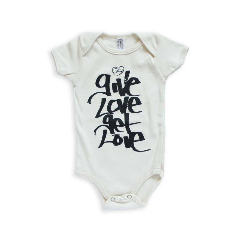 Give Love Get Love Onesie