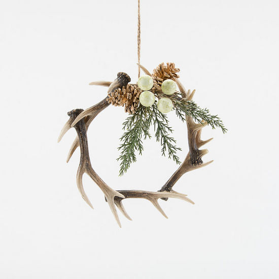 "8"" Antler Ornament"