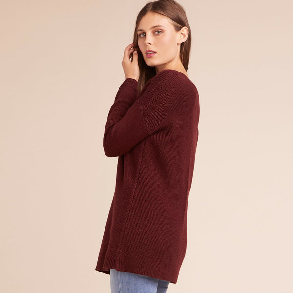 Mercy Me V Neck Sweater