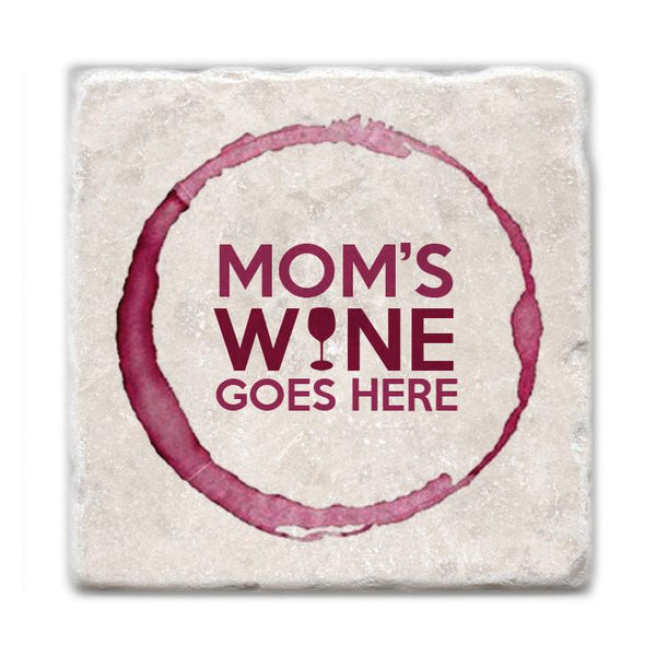 Moms Wine Coasters