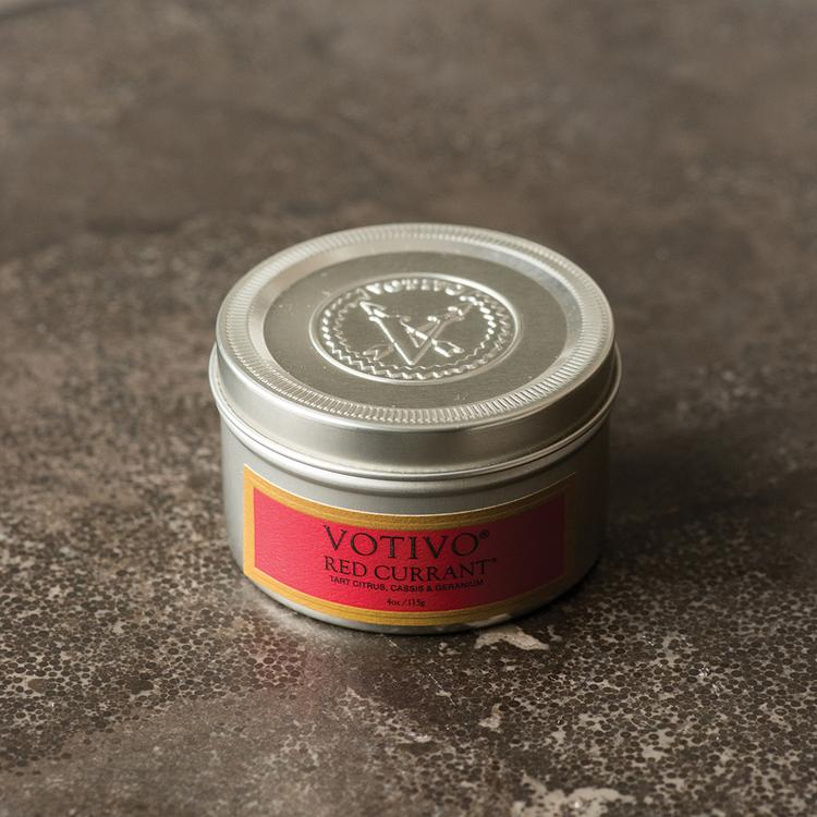 Votivo Travel Tin Red Currant Candle