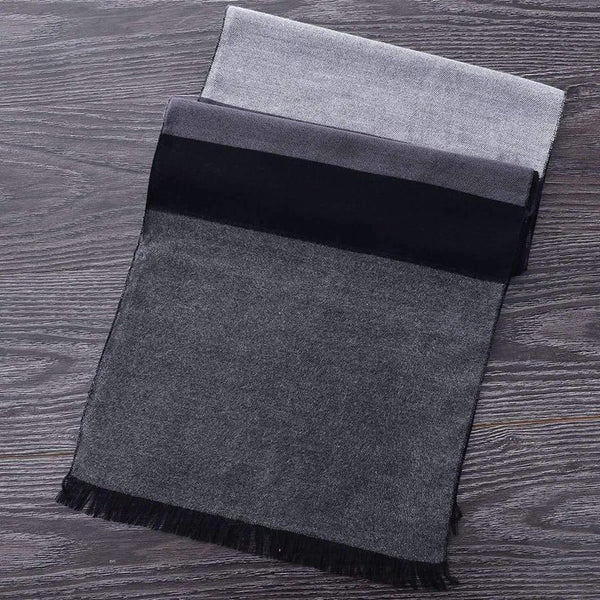 Heritage Black/Grey Scarf