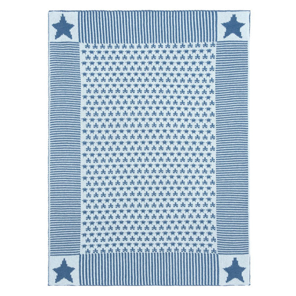 Denim Patterned Blanket