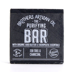 Brother's Artisian Men's Soap Tea Tree & Charcoal