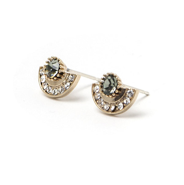 Arc Post Earrings