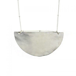 Silver Jupiter Necklace