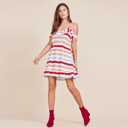 Meredith Printed Dress