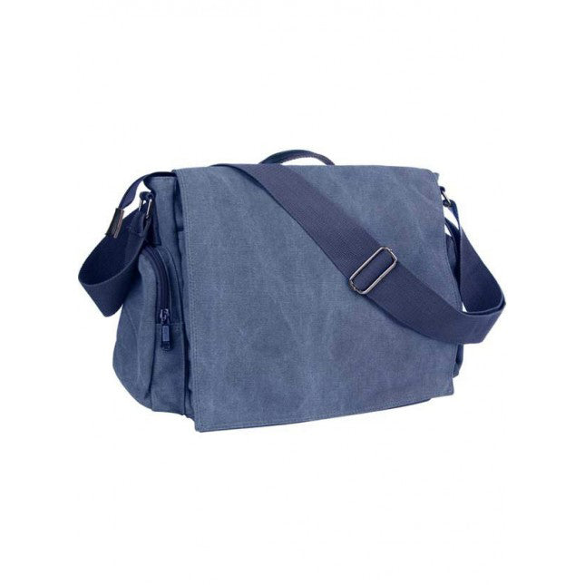 Blue Hennesy Messenger Bag