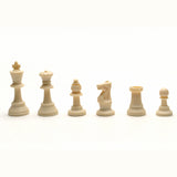 Triple Weighted Tournament Plastic Chess Pieces