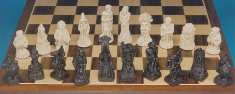 Lord of the Rings Chessmen- Small Version