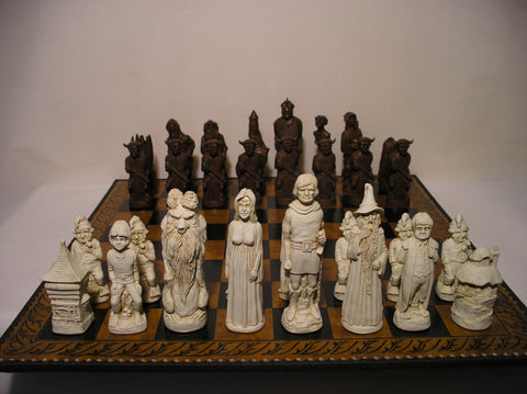Lord of the Rings Chess Set
