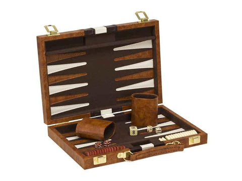 "12"" Vinyl Backgammon set"