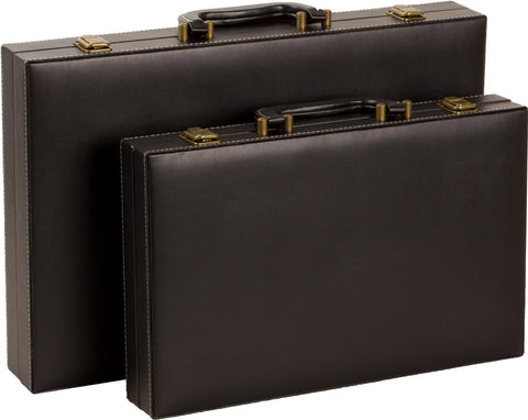 "15"" Attache-Style Backgammon Set"
