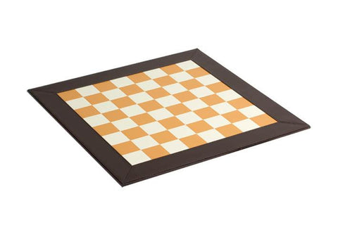 "1.5"" Light Brown and White Chessboard"
