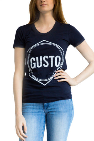 Women's Navy Gusto T-shirt