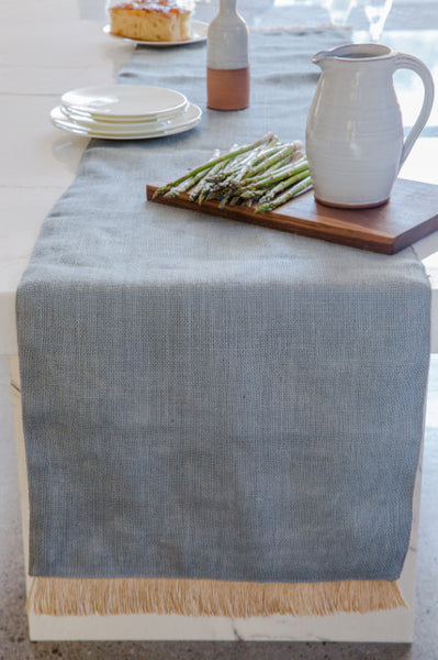 Brush Fringe Table Runner