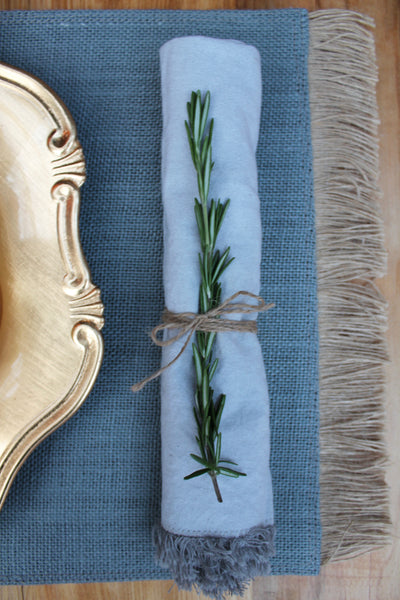 Brush Fringe Placemats