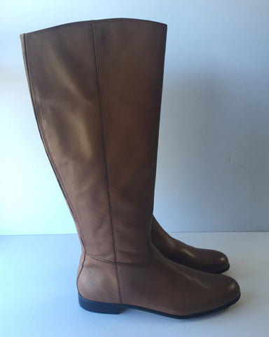 Corso Como Tan Leather Boots