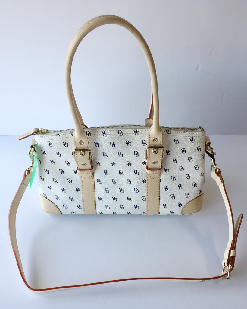 Dooney and Bourke White Leather Handbag