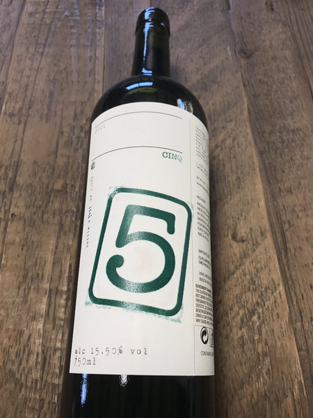 2011 CINQ / Blend Single Vineyard