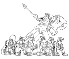 eat a bag of dicks coloring book voltron