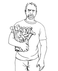 eat a bag of dicks coloring book louis ck