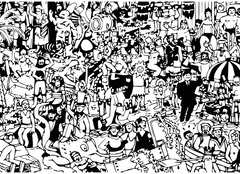 eat a bag of dicks coloring book where's waldo