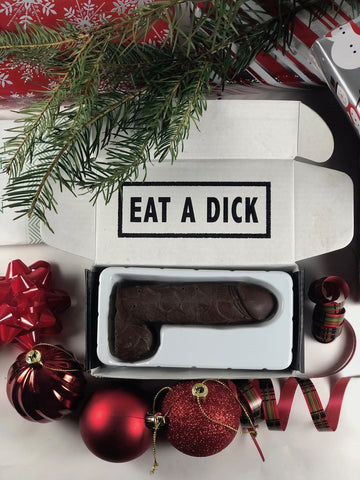The Christmas Chocolate Dick!