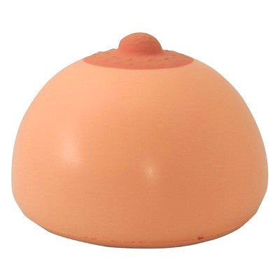 calm your tits stress ball side view