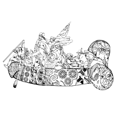 Eat A Bag Of Dicks Coffee Table Coloring Book