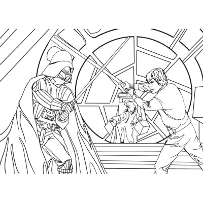eat a bag of dicks coloring book star wars