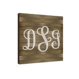 Ash Classic 17 in x 17 Monogram Personalized Wall Plaque