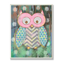Distressed Woodland Owl