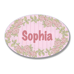 Pink on Pink Floral Border