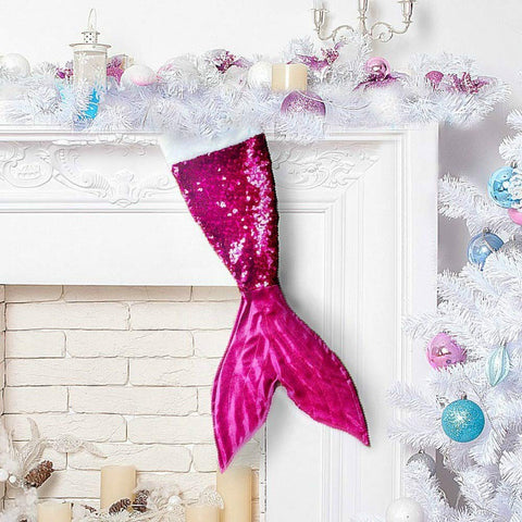 Mermaid Christmas Stockings for Kids