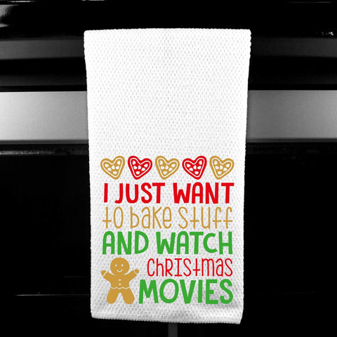Christmas Tea Towel Home Decor