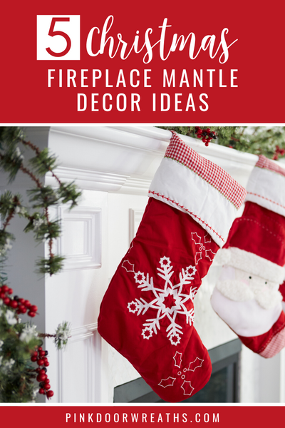 Christmas Fireplace Mantle Decor Ideas and Inspiration