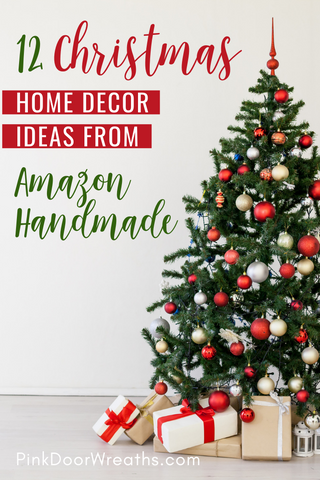 Christmas Home Decor Ideas from Amazon Handmade