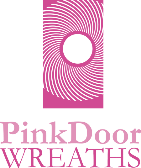 Pink Door Wreaths