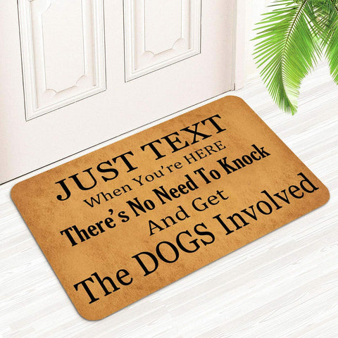 Doormat for Dog Lovers