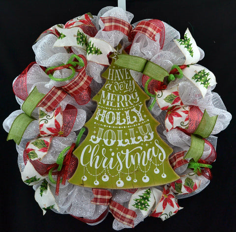 Merry Christmas Wreath